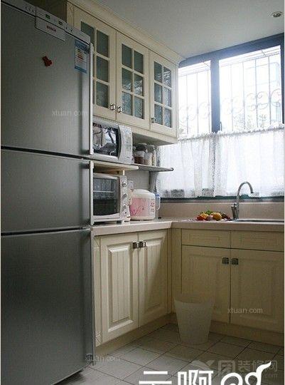 两室一厅混搭风格厨房厨具