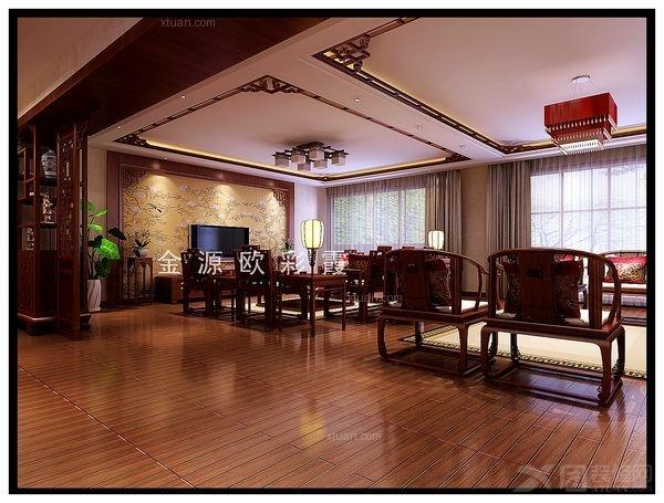 三居室古典风格