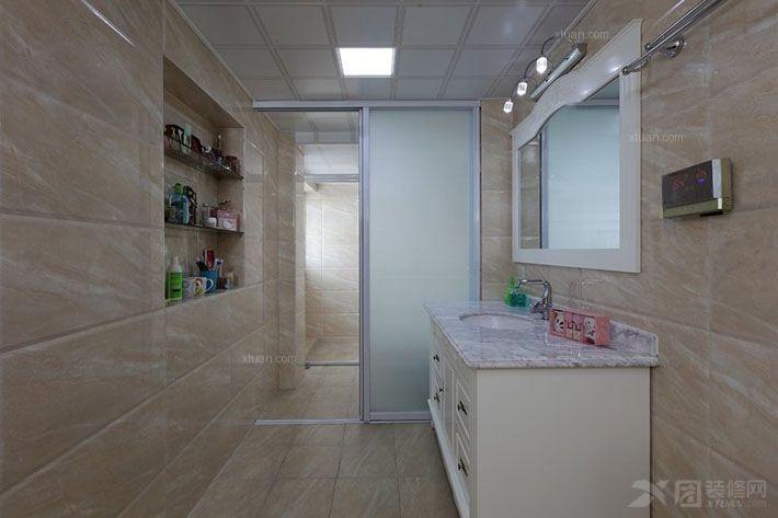 两居室简欧风格卫生间图片