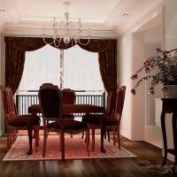 广州星河丹堤285平米装修-中式风格