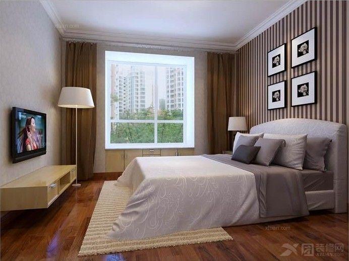 华侨城天鹅堡-二居室-135平米-案例效果图