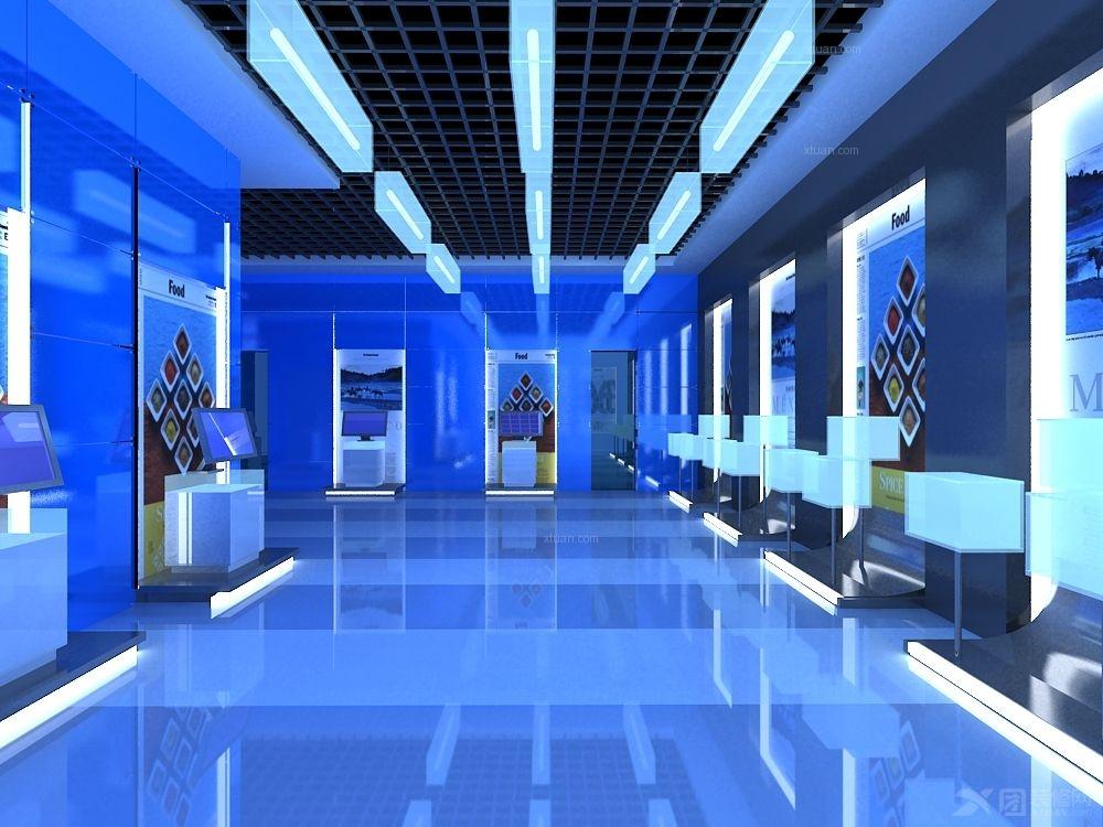 展厅装修效果图_展厅设计图片