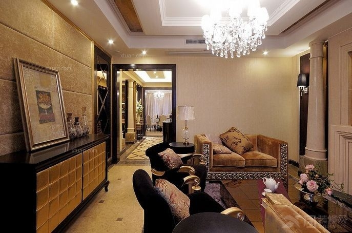 四居室古典风格