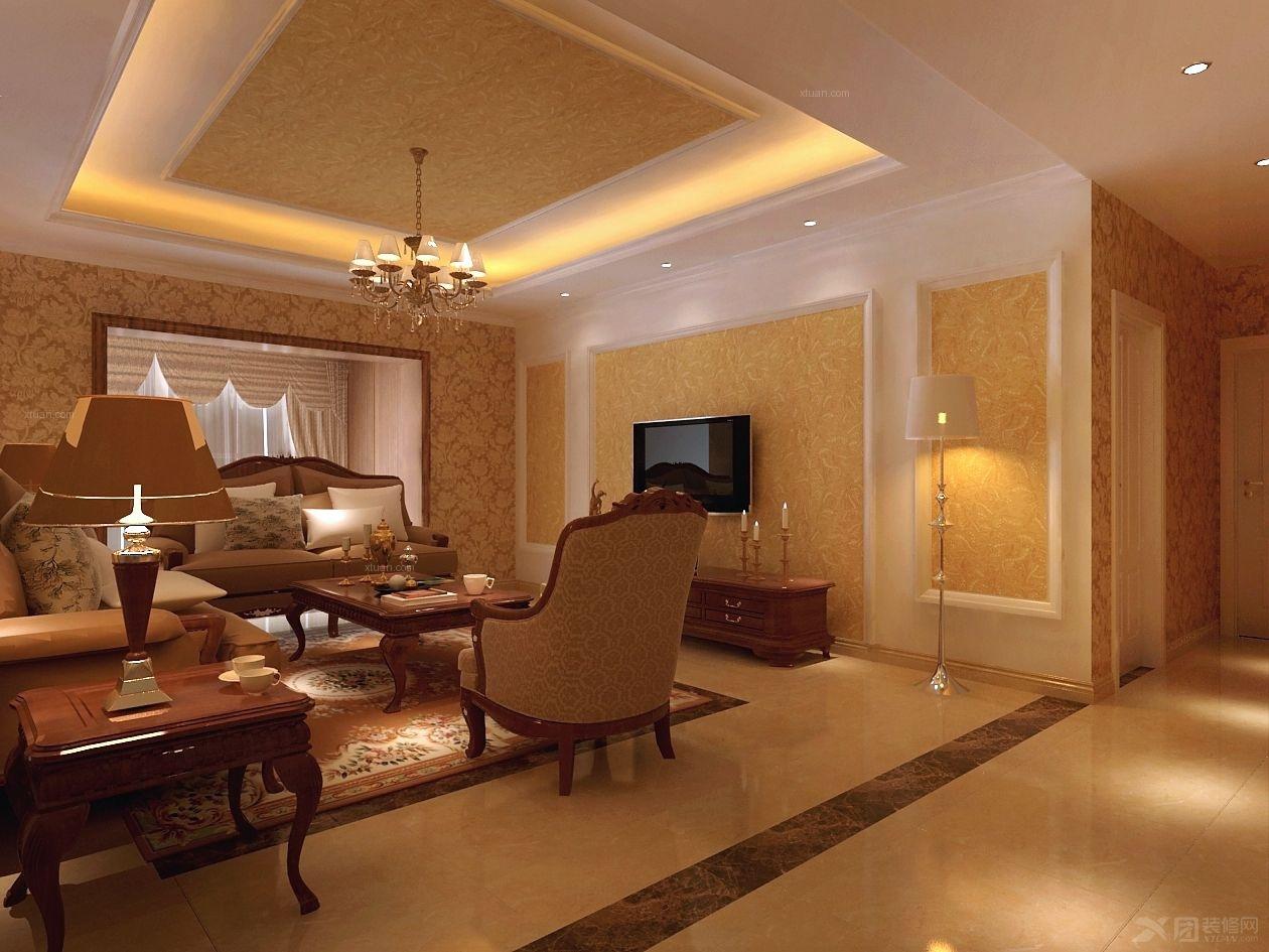 两室一厅装修效果图图片