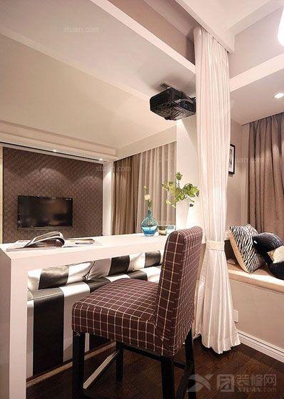 复式楼时尚风格卧室
