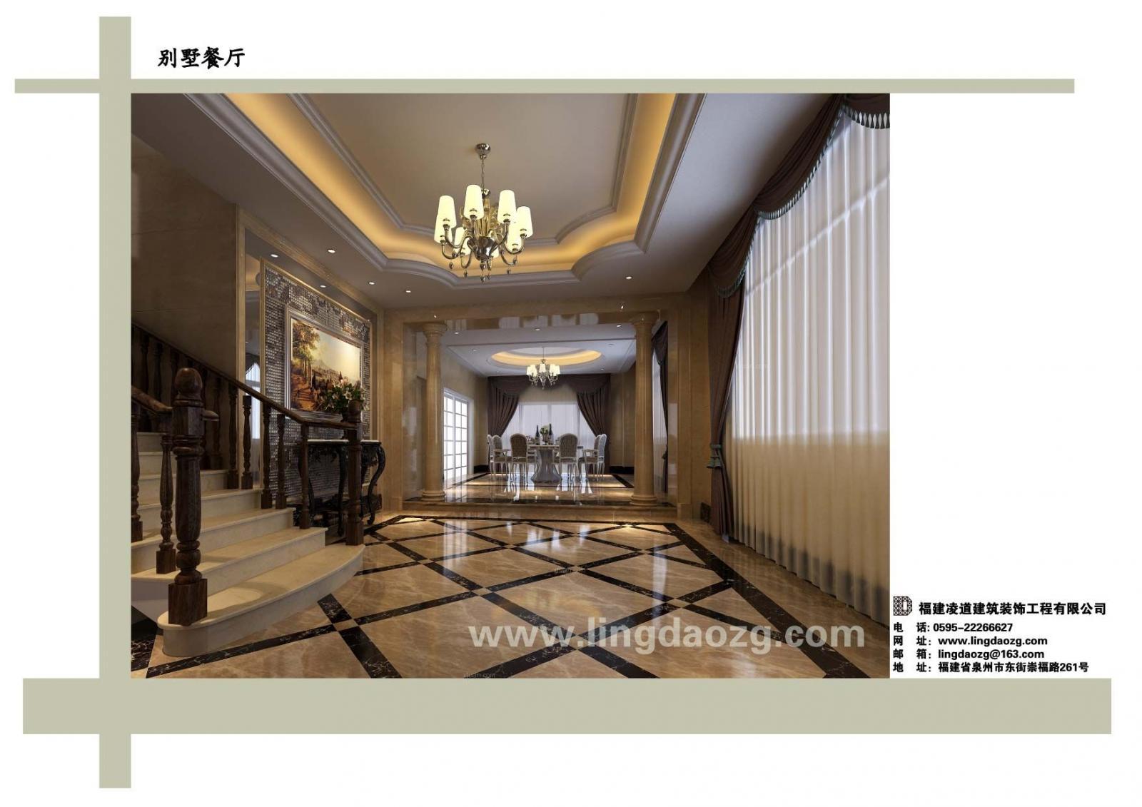 别墅欧式风格卧室_泉州东园别墅装修效果图-x团装修