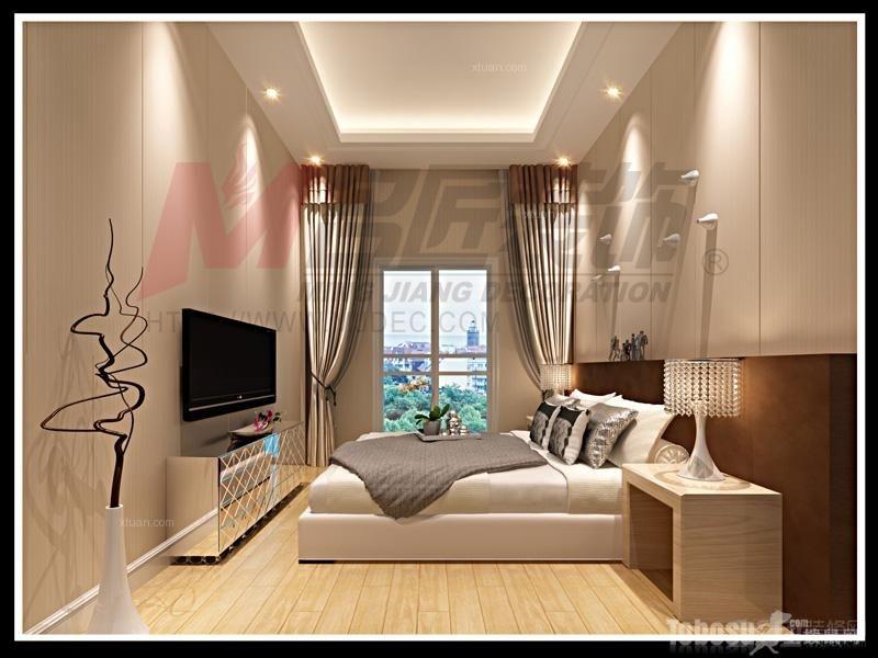 【奥林匹克花园】独栋别墅4室2厅2卫中式装修案例效果图