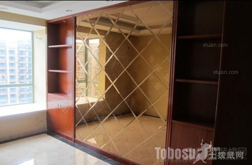 中天彩虹城普通住宅4室2厅2卫雅致主义装修案例效果图