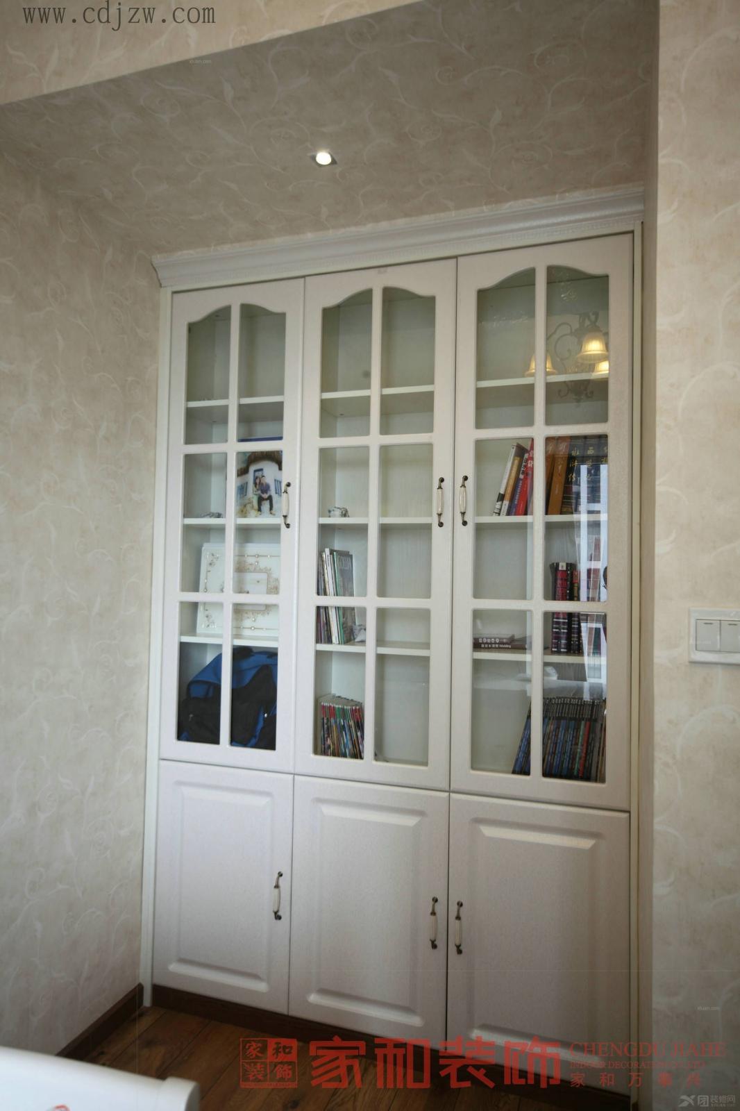 两居室欧式风格阳台_首汇·观筑装修效果图-x团装修网