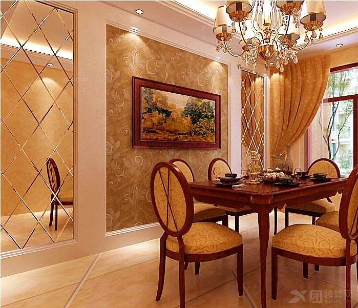 三室两厅欧式风格