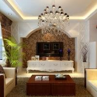 123平融侨锦江两居室纯净简欧风格大包装修设计
