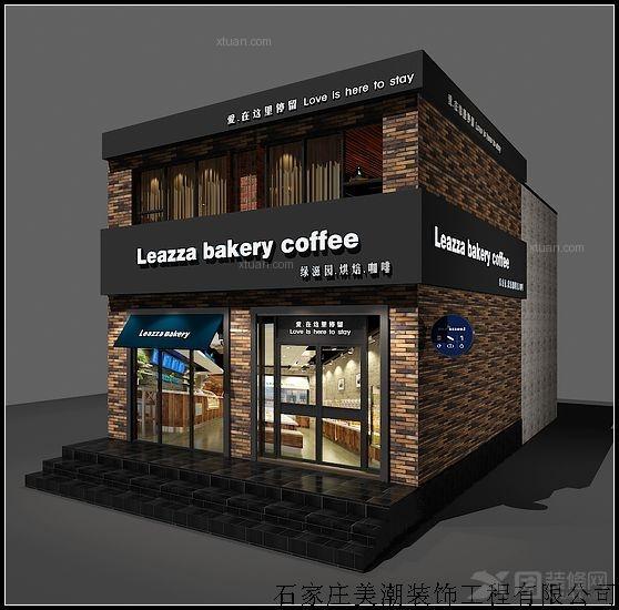 现代风格_[蛋糕房设计] 绿滋园西饼咖啡店设计 品牌