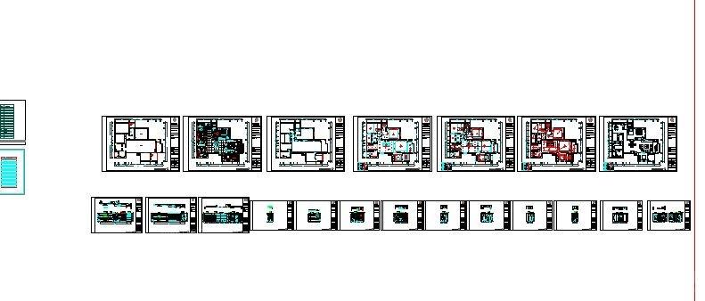 140平米三居现代简约风格