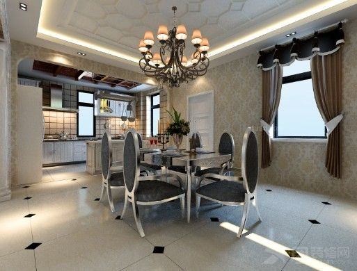 别墅欧式风格餐厅