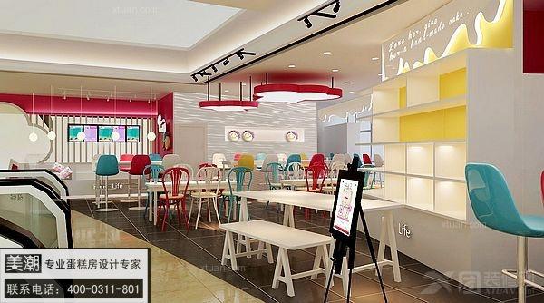 [蛋糕房设计] 山东diy蛋糕店设计 提升自主品牌市场占有率