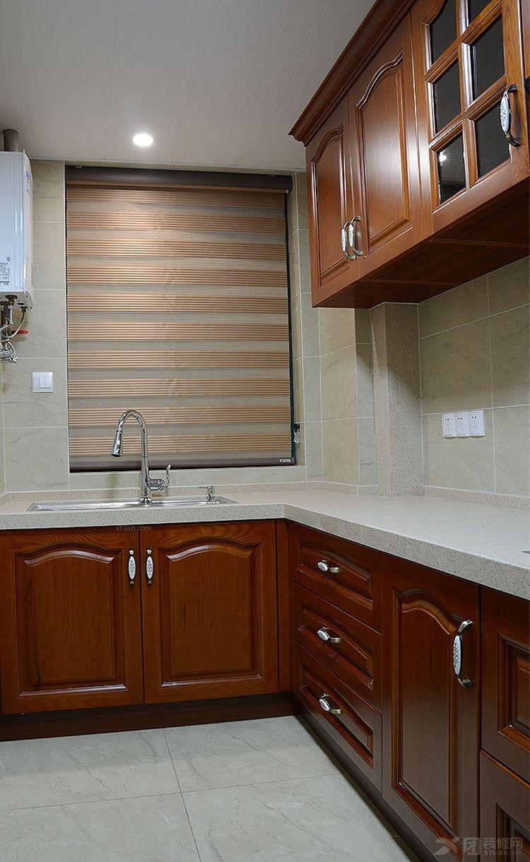 三居室中式风格厨房图片