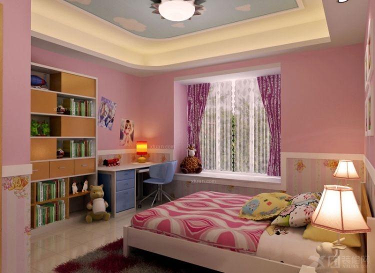 三室两厅_谭生自建复式公寓设计方案装修效果图-x团