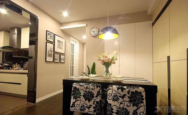 一室一厅简欧风格餐厅