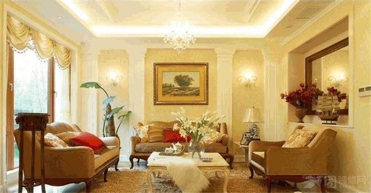 两室两厅客厅照片墙