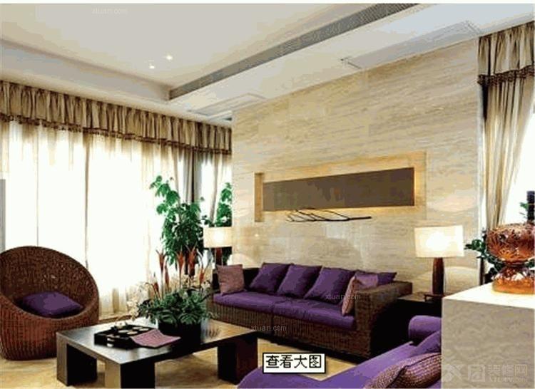 两室两厅客厅软装