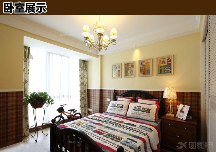 别墅现代简约卧室软装
