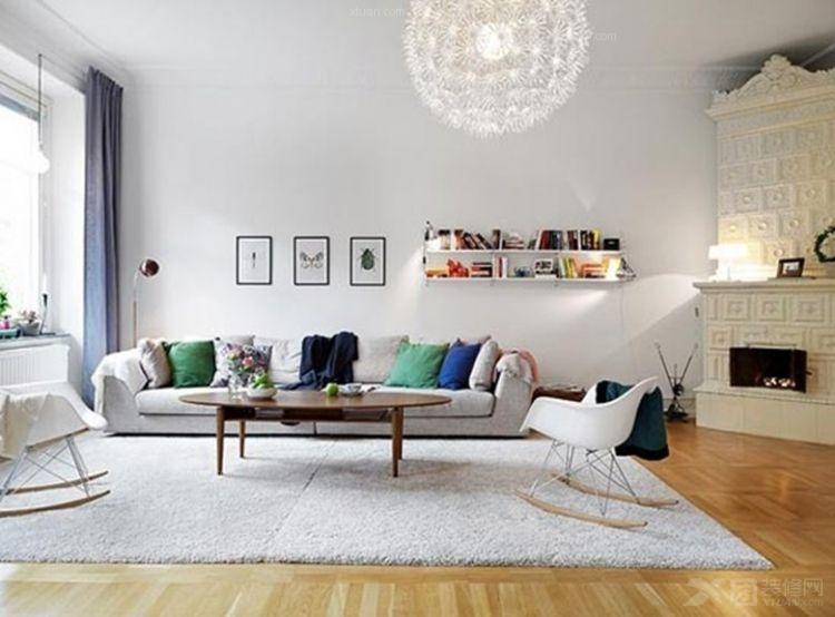 一室一厅客厅照片墙
