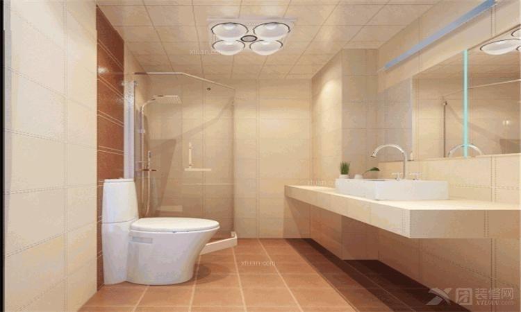 三居室现代简约卫生间