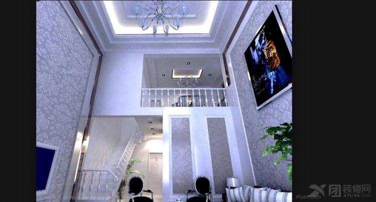 别墅时尚风格客厅