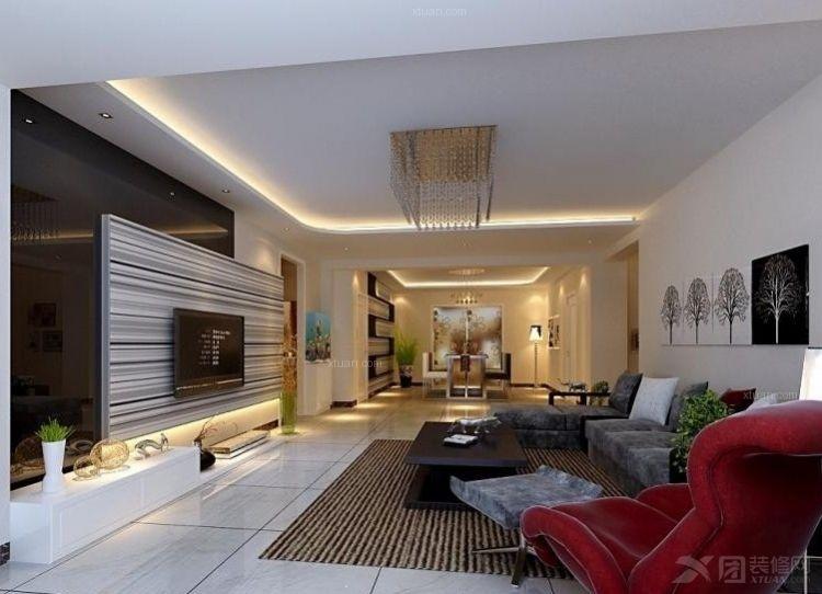 两居室新古典客厅