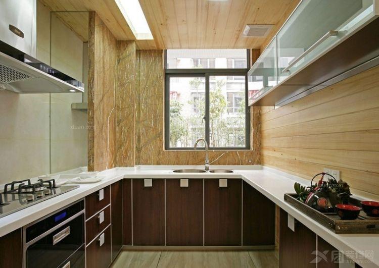 别墅中式风格厨房