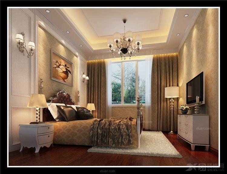 卧室_中式家装装修效果图