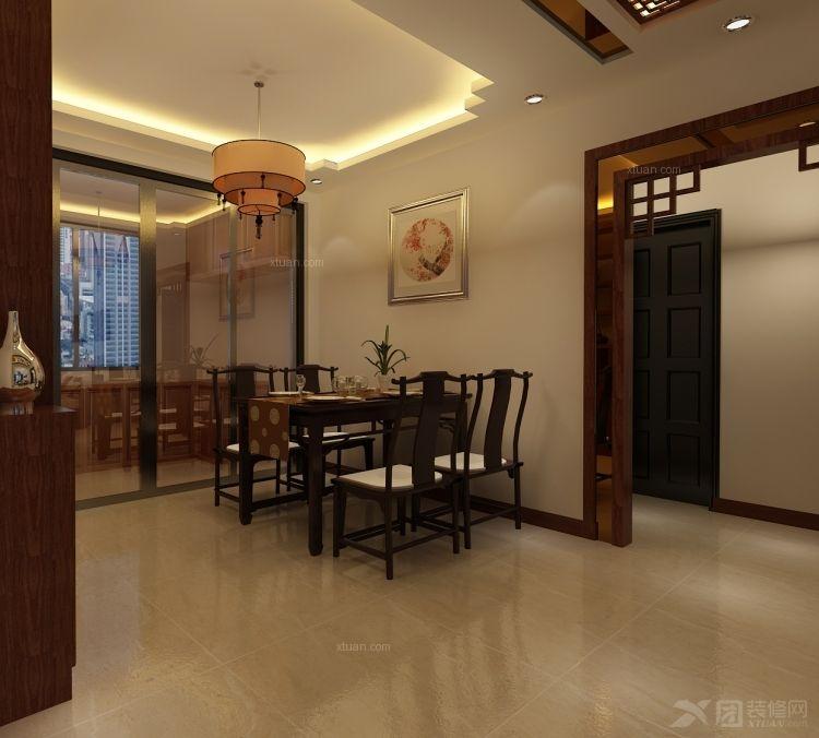 三居室中式风格餐厅厨具