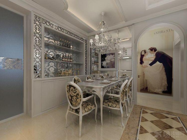 三室两厅新古典餐厅