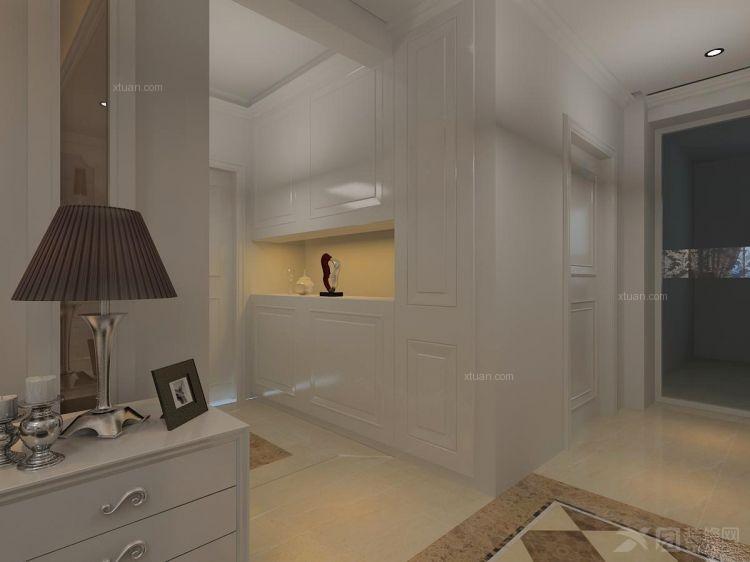 三室两厅新古典过道