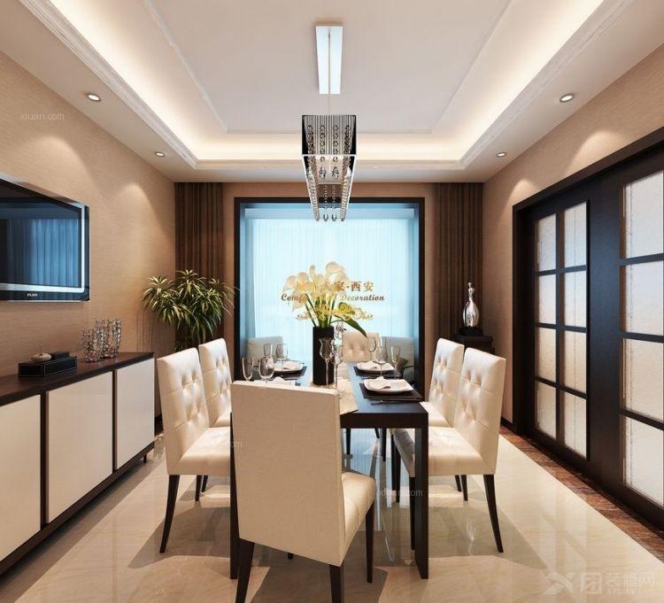 四居室时尚风格客厅沙发背景墙图片