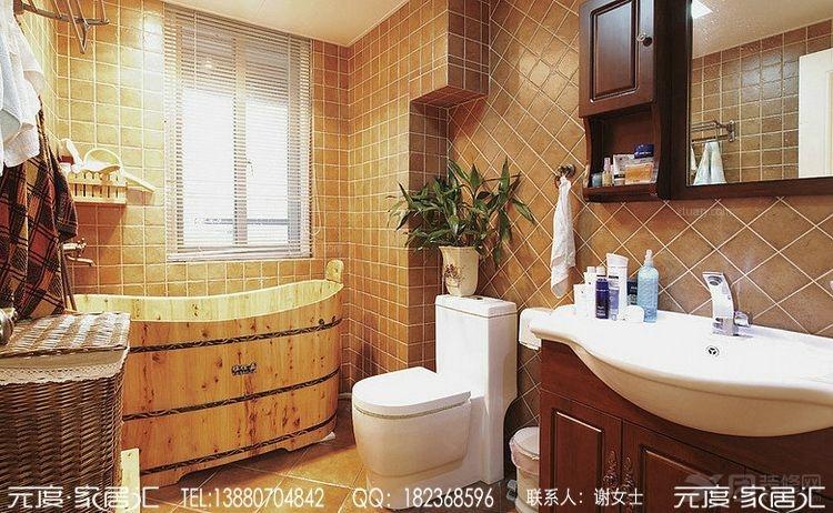 中海金沙府之美式风格装修图片