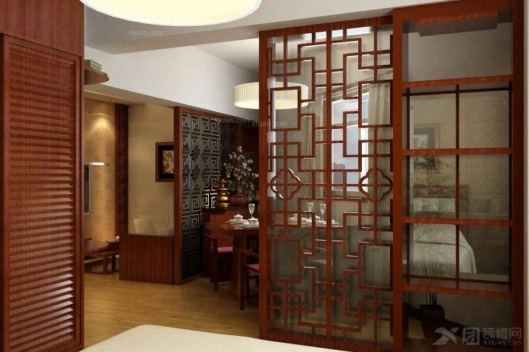 宝龙城市广场40平中式风格