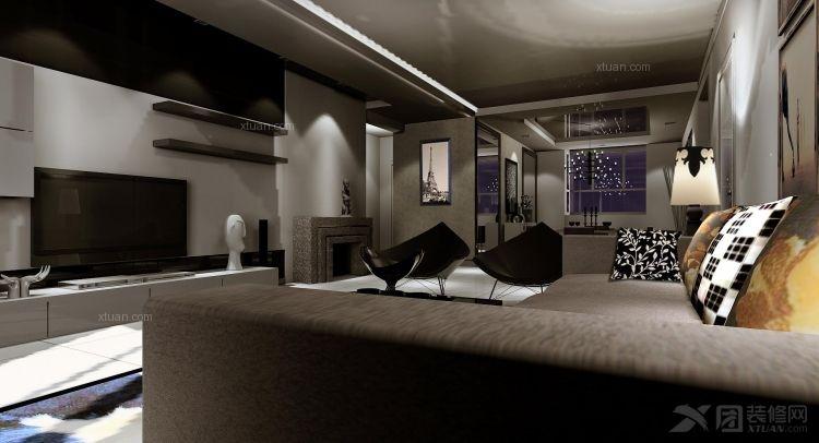 北京元洲装饰推荐金色漫香苑188平米四居室案例