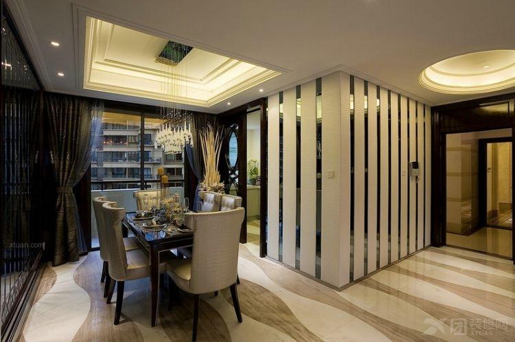 北京元洲装饰御翠尚府三居室140平米古典风格案例