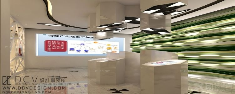 西安医疗机构室内设计—陕西省九州干细胞库 医院装修