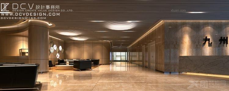西安医疗机构室内设计—西安九州干细胞库 医院装修图