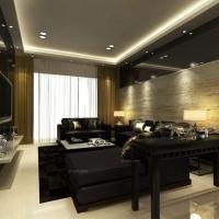 汇锦城123平米现代简约风格