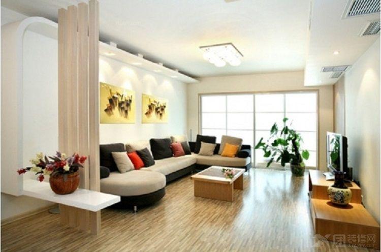 120平米装修效果图 素雅简洁的居住空间