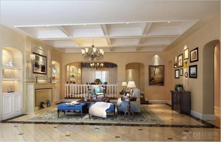 鼎盛创典装饰首席设计师精装东岸国际二期别墅