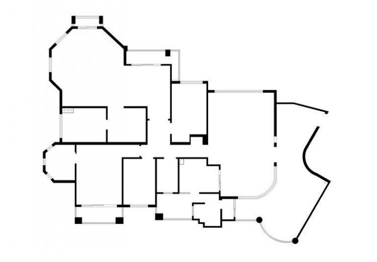 翡翠绿洲森林半岛-五居室-260平米-装修设计