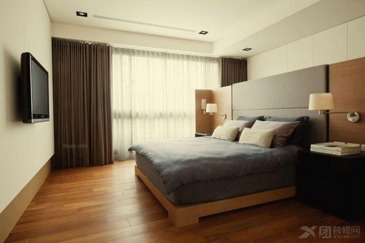 路劲隽泷湾-二居室-80平米-装修设计
