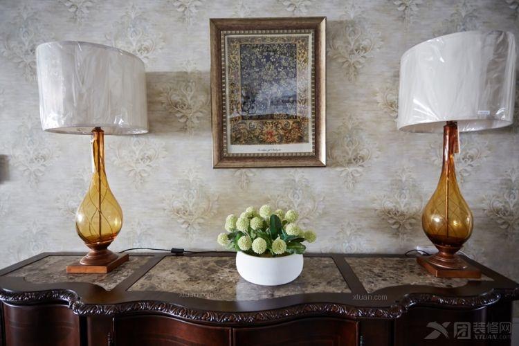 三居室美式风格露台