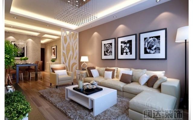 金坤世纪92平米两居室简约装修