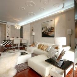 上海东源名都大户型现代简约风格设计
