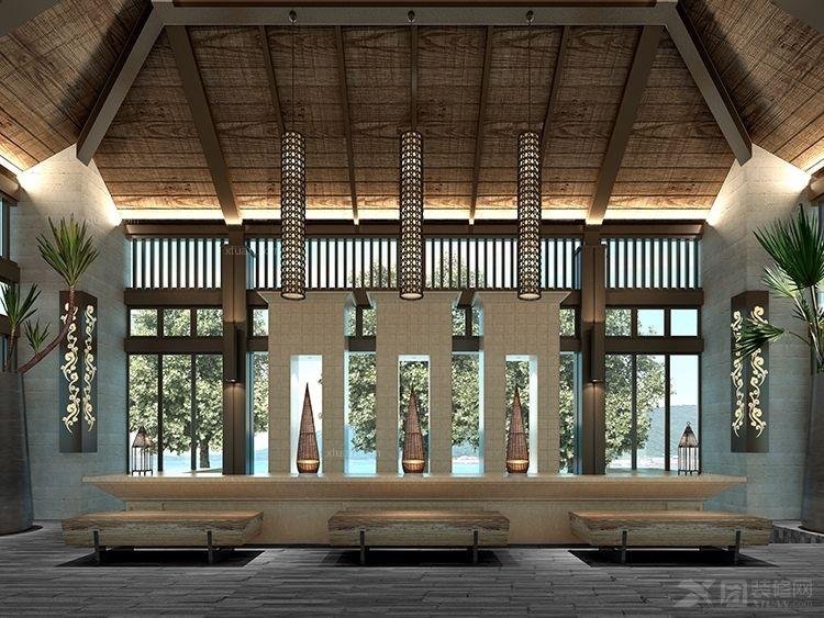 天琴湾巴厘岛风格设计项目装修效果图